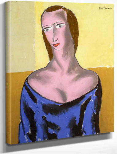 Girl1 By Alfred Henry Maurer By Alfred Henry Maurer