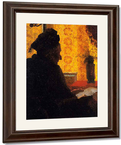 Grandmother Michaud In Silhouette By Edouard Vuillard