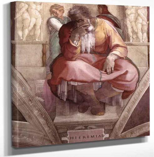 Jeremiah20 By Michelangelo Buonarroti Art Reproduction