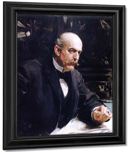 Halsey Cooley Ives By Anders Zorn