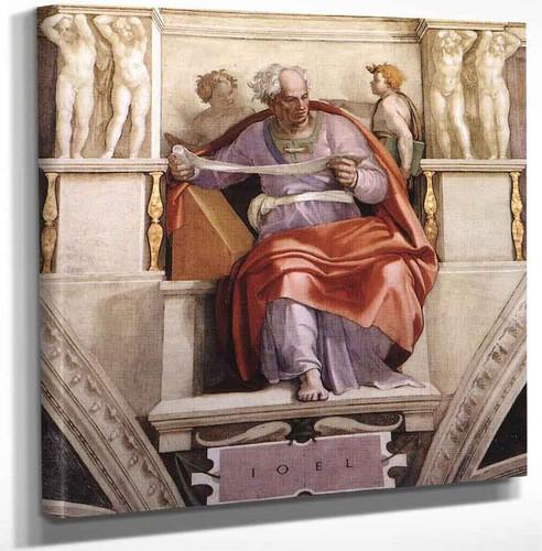 Joel By Michelangelo Buonarroti Art Reproduction