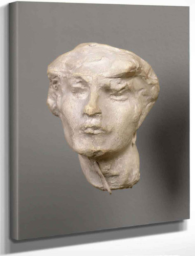 Head Of A Woman By Auguste Rodin