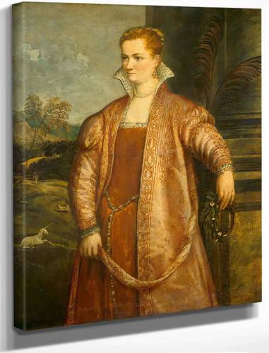 Irene Di Spilimbergo 1 By Titian