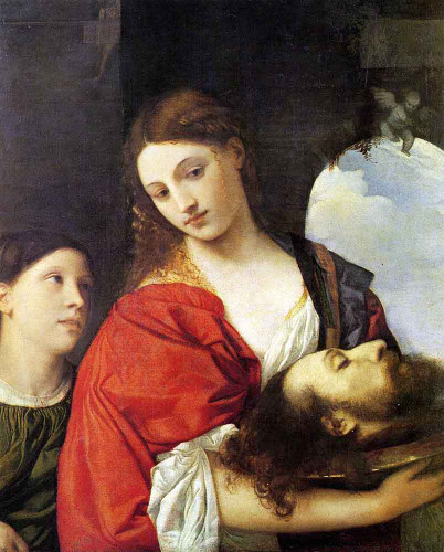 Judith With The Head Of Holofernes By Titian