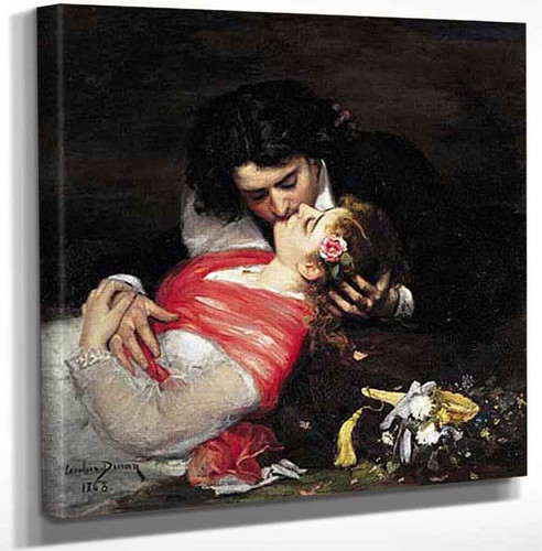 Le Baiser By Charles Auguste Emile Carolus Duran Art Reproduction