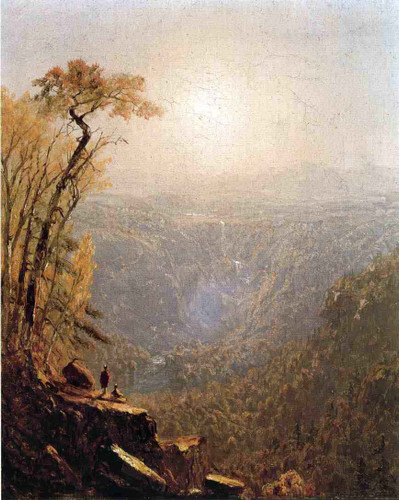 Kauterskill Clive, In The Catskills 2 By Sanford Robinson Gifford By Sanford Robinson Gifford
