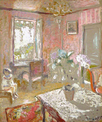 La Chambre Rose By Edouard Vuillard
