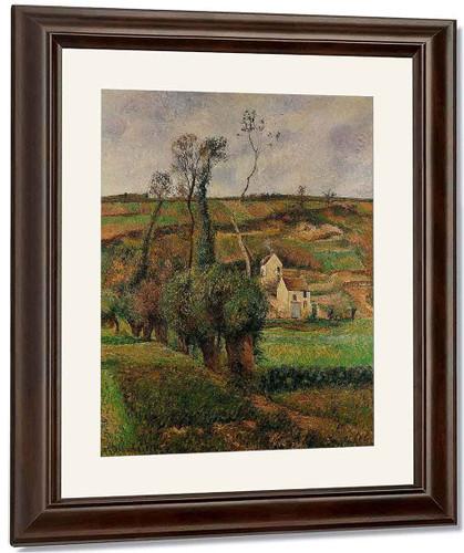 La Cote De 'Chou' A Pontoise By Camille Pissarro By Camille Pissarro