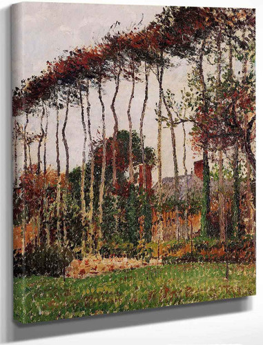 Landscape At Varengeville By Camille Pissarro By Camille Pissarro