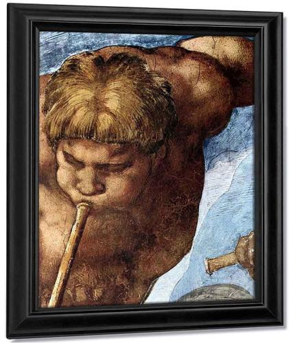 Last Judgment 21 By Michelangelo Buonarroti By Michelangelo Buonarroti