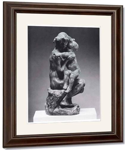 Le Frere Et La Soeur By Auguste Rodin