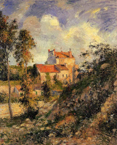 Les Mathurins, Pontoise By Camille Pissarro By Camille Pissarro