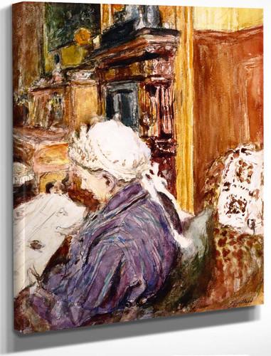 Madame Vuillard By Edouard Vuillard