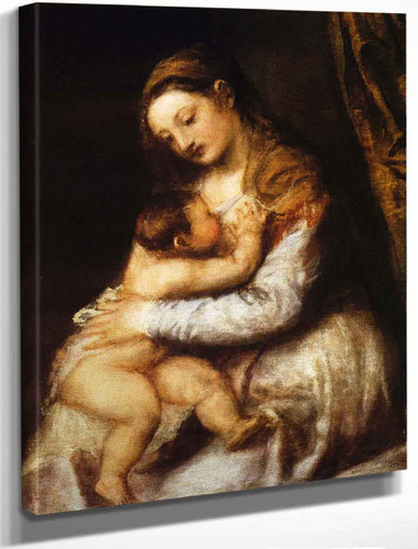 Madonna And Child By Titian