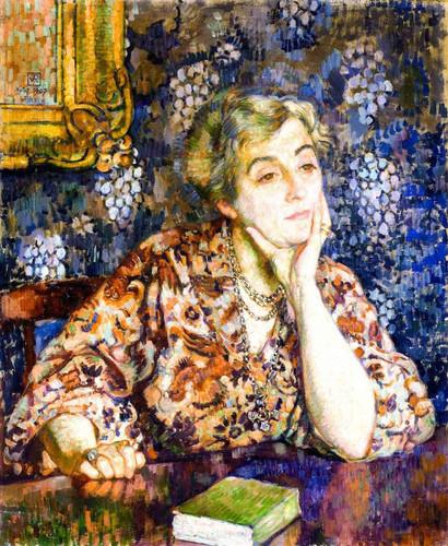 Maria Van Rysselberghe, Jersey By Theo Van Rysselberghe