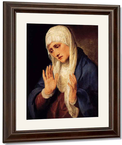 Mater Dolorosa 1 By Titian