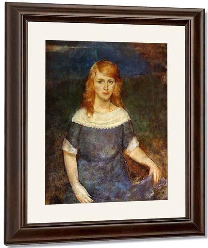 Maureen By Charles W. Hawthorne
