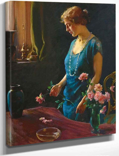 Memories By Charles Courtney Curran By Charles Courtney Curran