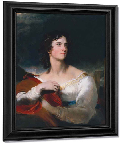 Miss Caroline Fry By Sir Thomas Lawrence
