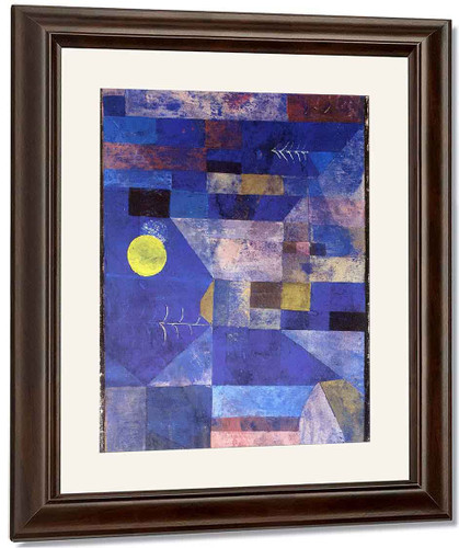 Moonlight By Paul Klee By Paul Klee