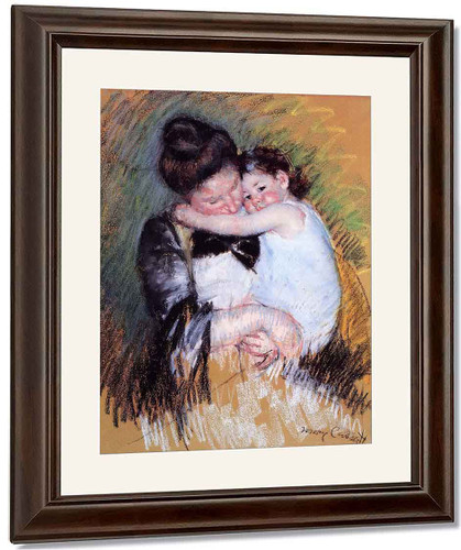 Mother And Child4 By Mary Cassatt By Mary Cassatt