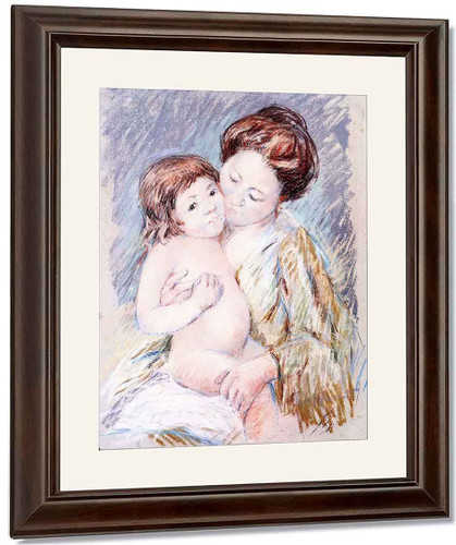 Mother And Child5 By Mary Cassatt By Mary Cassatt