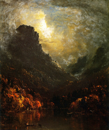 Mountain Lake By Sanford Robinson Gifford By Sanford Robinson Gifford