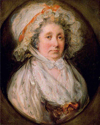 Mrs Thomas Gainsborough By Thomas Gainsborough By Thomas Gainsborough