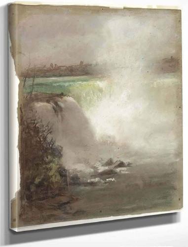 Niagara Falls By William Morris Hunt By William Morris Hunt