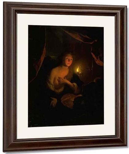 Penitent Mary Magdalene By Godfried Schalcken