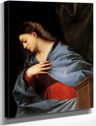 Polyptych Of The Resurrection Virgin Annunciate By Titian