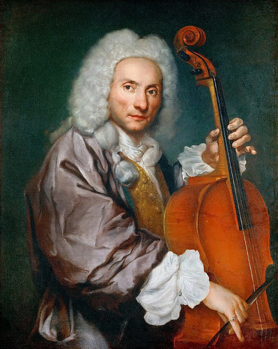 Portrait Of A Cellist By Giacomo Ceruti