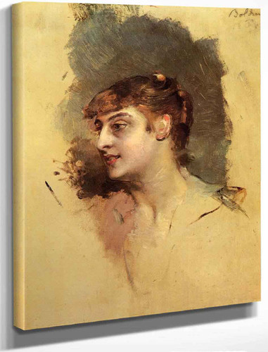 Portrait Of A Lady1 By Giovanni Boldini By Giovanni Boldini