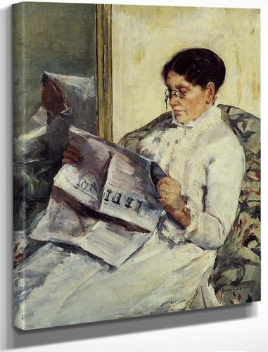 Portrait Of A Lady1 By Mary Cassatt By Mary Cassatt