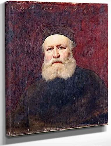 Portrait Of Charles Gounod By Charles Auguste Emile Carolus Duran