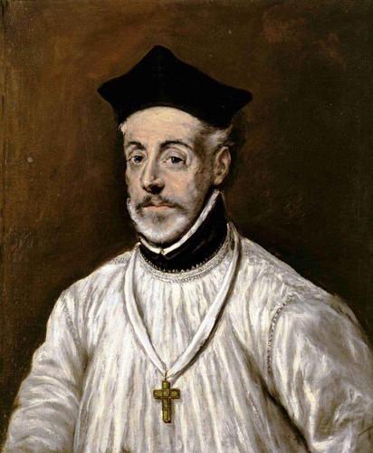 Portrait Of Diego De Covarrubias By El Greco By El Greco
