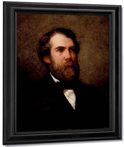 Portrait Of Edward Wheelwright By William Morris Hunt By William Morris Hunt