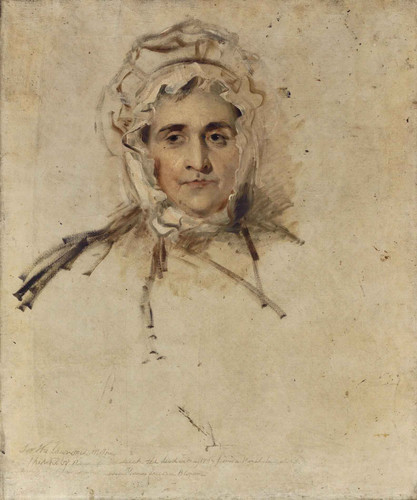 Portrait Of His Mother By Sir Thomas Lawrence
