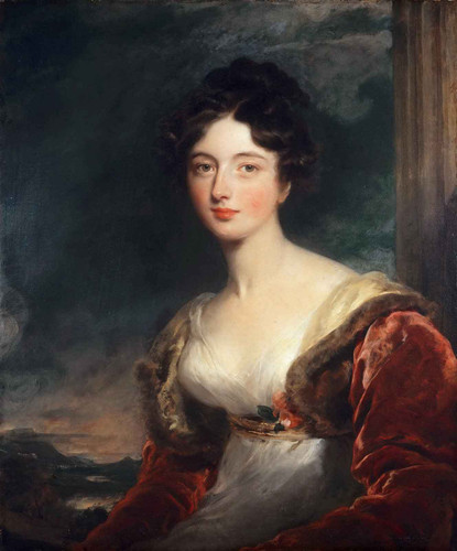 Portrait Of Mrs James Fraser Of Castle Fraser By Sir Thomas Lawrence
