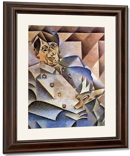 Portrait Of Pablo Picasso By Juan Gris