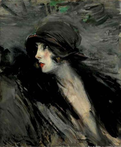 Portrait Of Suzy By Giovanni Boldini By Giovanni Boldini