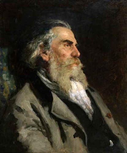 Portrait Of The Artist A. P. Bogolubov. 1 By Ilia Efimovich Repin By Ilia Efimovich Repin