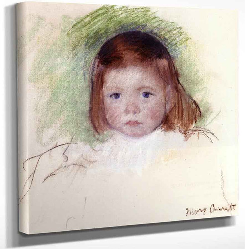 Portrait Of Ellen Mary Cassatt By Mary Cassatt Art Reproduction