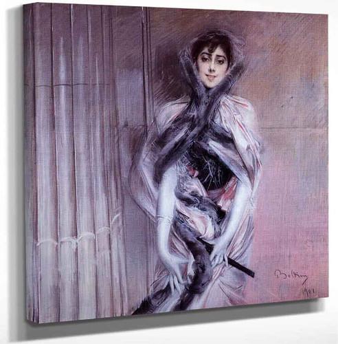 Portrait Of Emiliana Concha De Ossa By Giovanni Boldini Art Reproduction