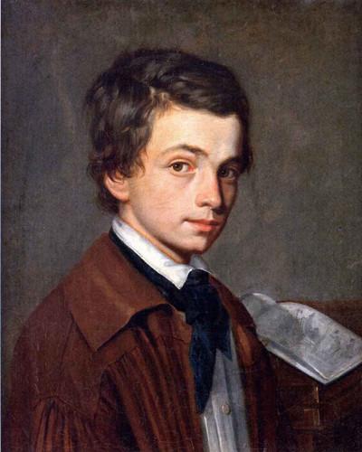 Self Portrait As A Child By Alexandre Cabanel
