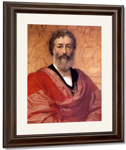 Self Portrait By Sir Frederic Lord Leighton