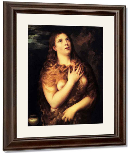 St Mary Magdalene By Titian