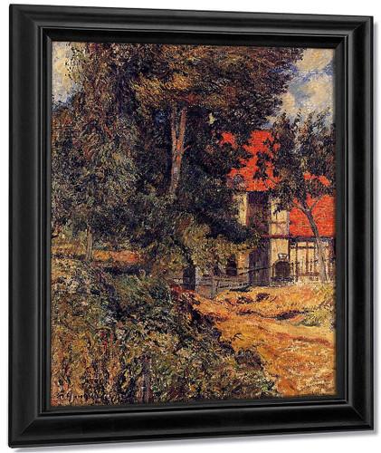 Stable Near Dieppe By Paul Gauguin By Paul Gauguin