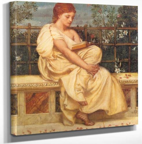 Reading By Sir Edward John Poynter Art Reproduction