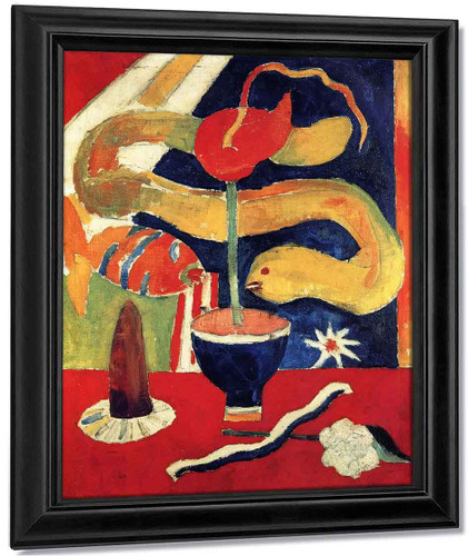 Still Life With Eel By Marsden Hartley